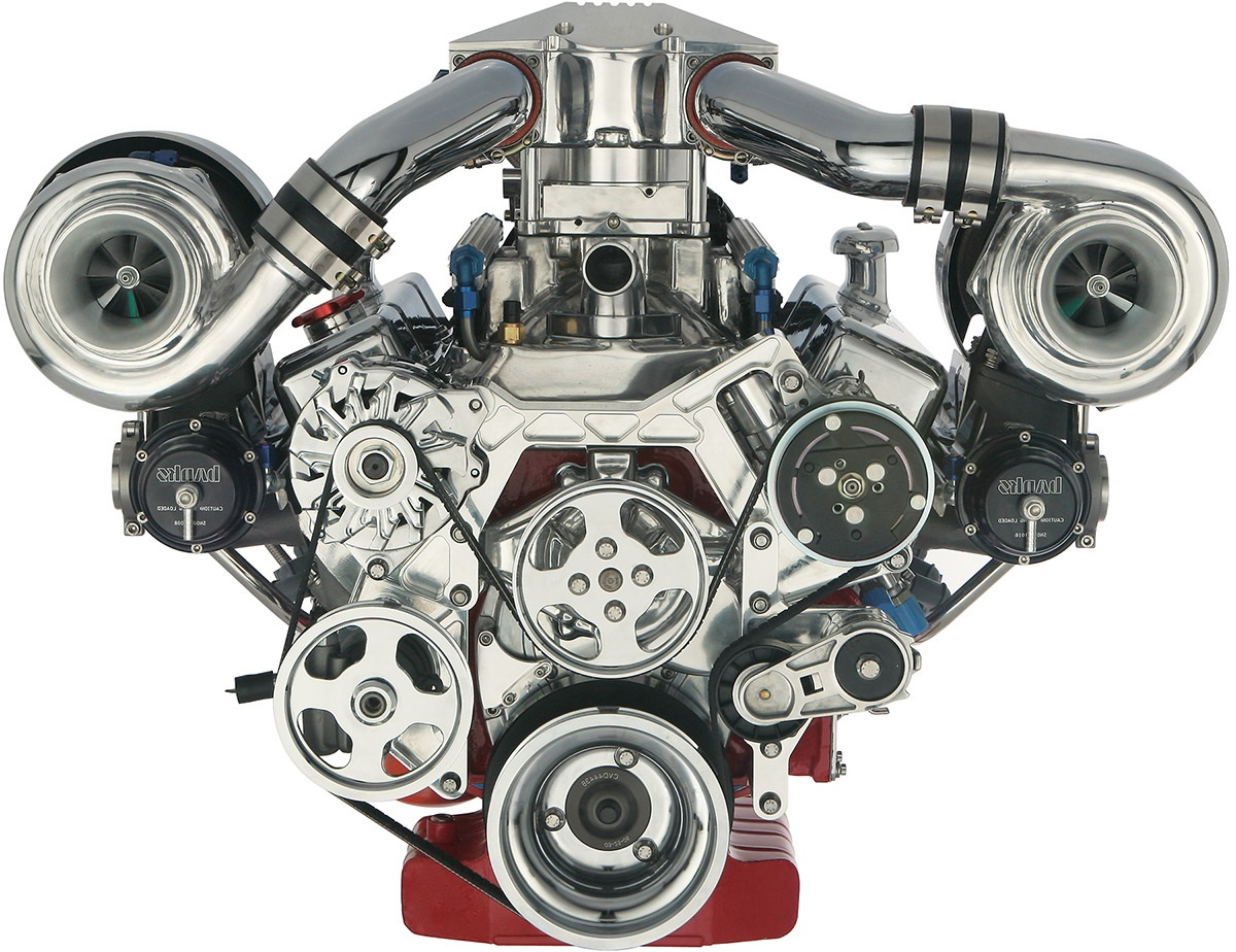 Двигатель с турбокомпрессором
