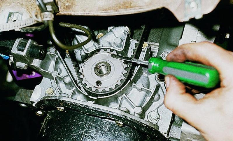 Замена ремня ГРМ ВАЗ 2114 8 клапанов