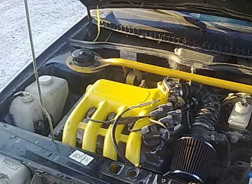 Спортивный ресивер на ВАЗ 2114 16 клапанов