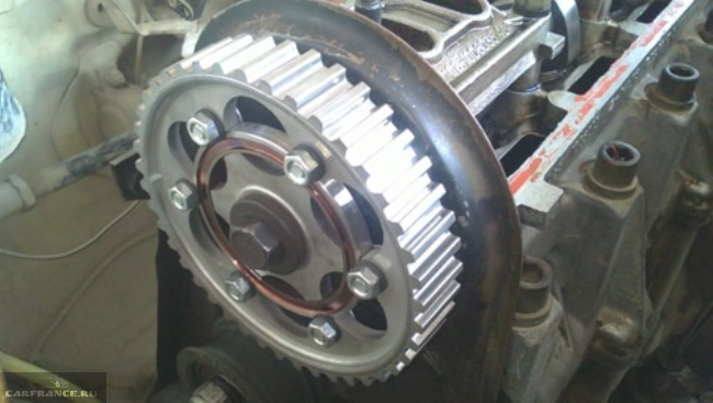 Тюнинговая разрезная шестерня ГРМ ВАЗ 8 клапанов