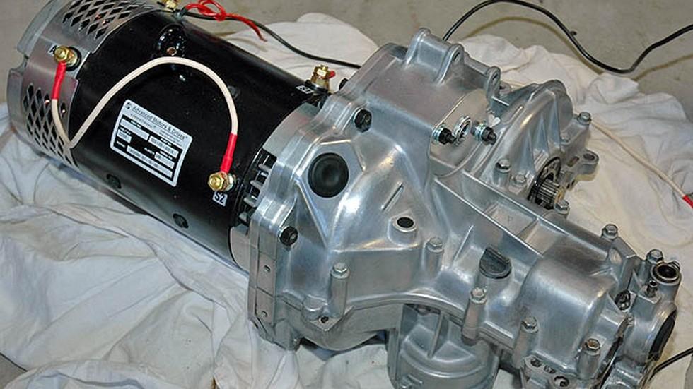 Электромотор для автомобиля своими руками 163
