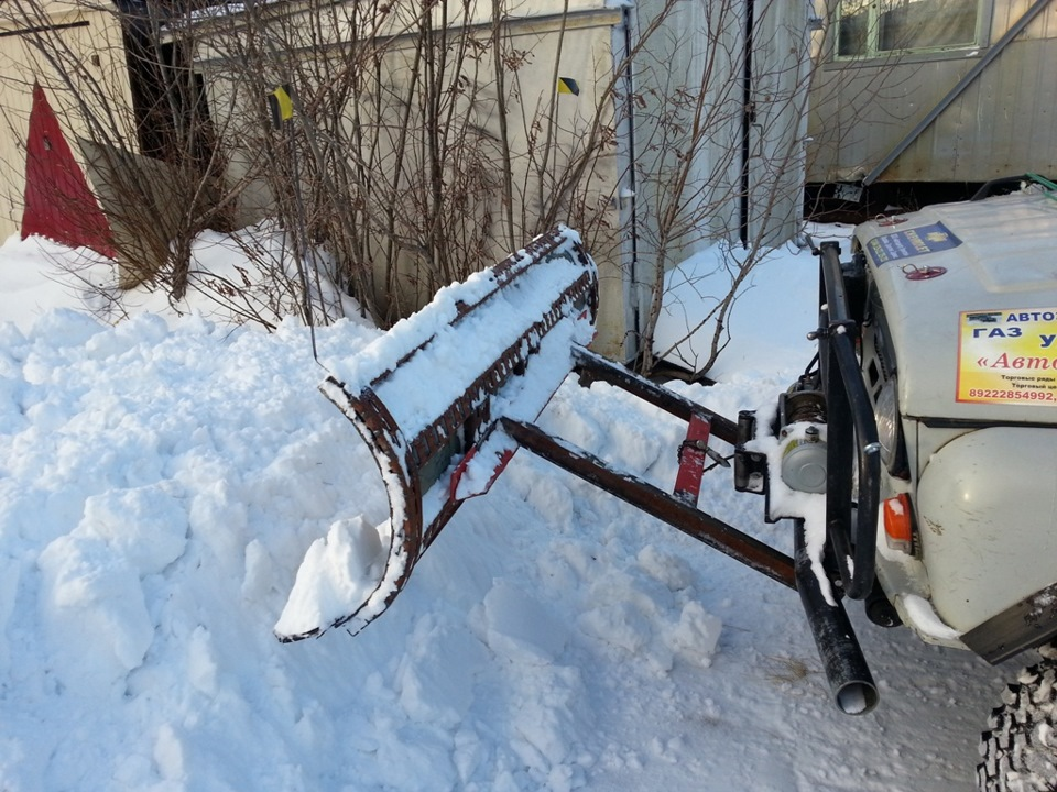 Ручные отвалы для уборки снега