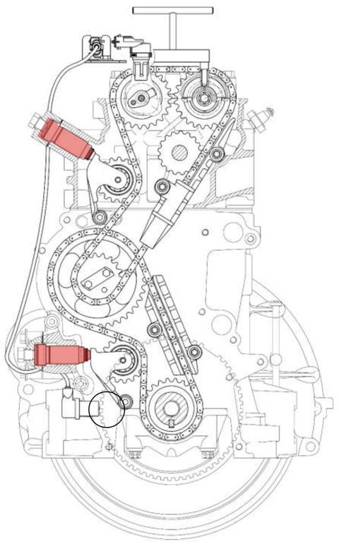 двигатель 405 замена цепей грм тоже иногда нуждаются