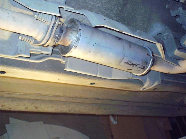 Замена катализатора на пламегаситель Нива Шевроле