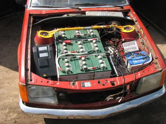 Электромобиль своими руками аккумулятор